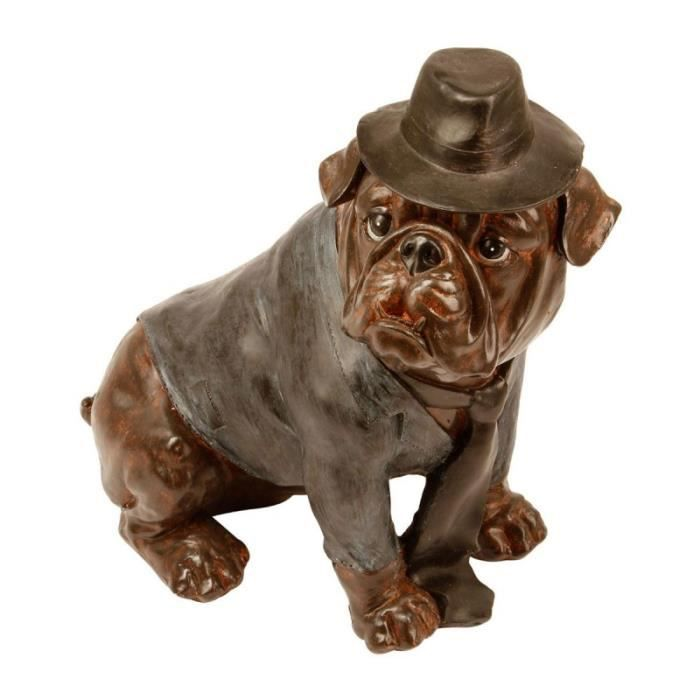 statuette deco chien achat vente statuette deco chien pas cher cdiscount. Black Bedroom Furniture Sets. Home Design Ideas