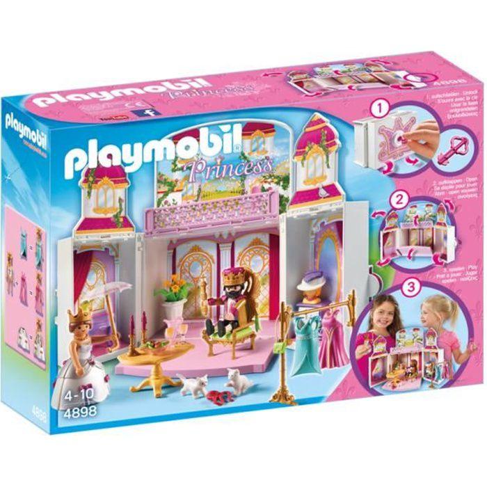 UNIVERS MINIATURE PLAYMOBIL 4898 - Princess - Coffre Cour Royale