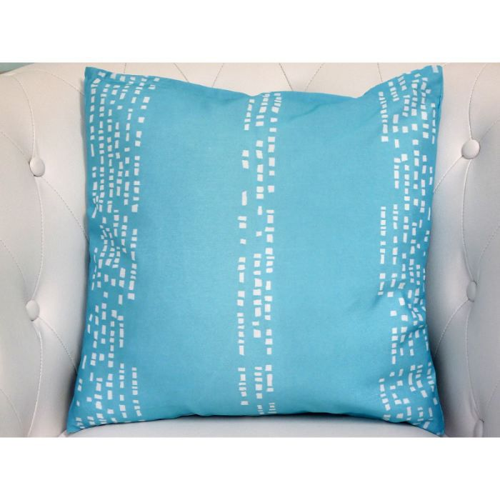 coussin atlantis turquoise achat vente coussin cdiscount. Black Bedroom Furniture Sets. Home Design Ideas