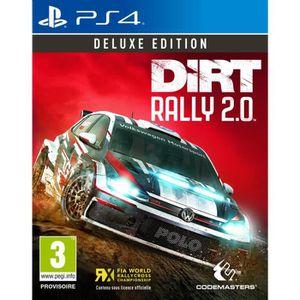 JEU PS4 Dirt Rally 2.0 Deluxe Édition Jeu PS4