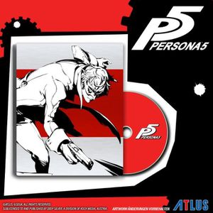 JEU PS4 Persona 5 Steelbook Day One Edition Jeu PS4