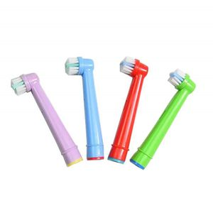 BROSSE DE RECHANGE Replacement Toothbrush Heads EB-10A Kids Electric
