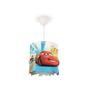 LUSTRE ET SUSPENSION Disney Philips Lustre - suspension enfant Cars rou
