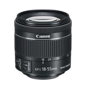 OBJECTIF Canon EF-S 18-55mm f/4-5.6 IS STM (kit Objectif)