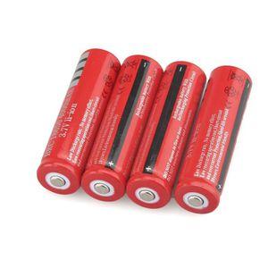 BATTERIE INFORMATIQUE Batteries 18650 Li-ion rechargeables 3.7V 4000AMH