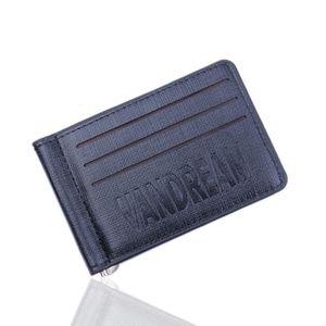 Hommes femmes premium marron petit doux portefeuille cuir carte de crédit titulaire id purse