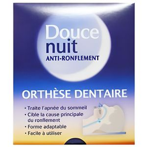 ANTI-RONFLEMENT DOUCE NUIT ANTI RONFLEMENT ORTHESE DENTAIRE