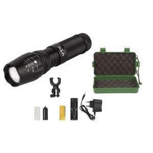 LAMPE - LANTERNE VTK Torche Pro XTI-10WT - CREE led Power - 2000Lum