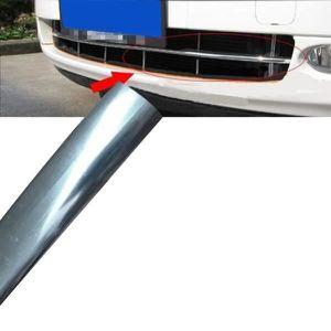 12 mm x 15 m Voiture Styling Moulage Bande Chrome Trim ADHESIVE Vendeur Britannique Neuf 1.2 cm