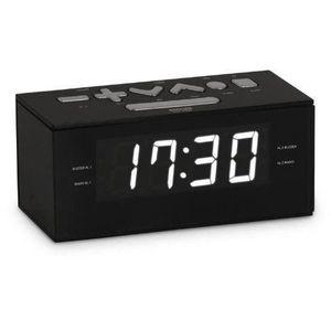 Radio réveil BigBen RR60 Radio-réveil USB Noir