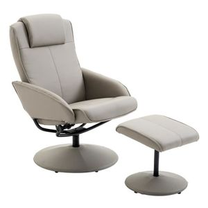 FAUTEUIL Fauteuil relax inclinable style contemporain avec