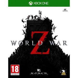 JEU NINTENDO SWITCH World War Z Jeu Xbox One + 1 Manette Xbox one sans