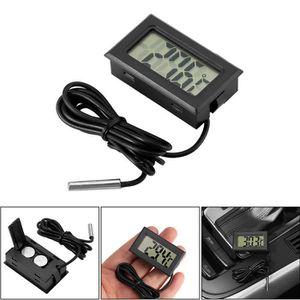 SONDE DE TEMPERATURE Mini thermomètre numérique voiture -50 ~ 110 ° C C