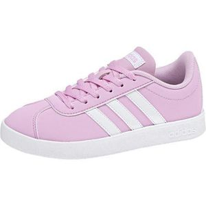 detailed look 5280e 90a42 BASKET Adidas - Chaussure junior rose Vl Court 2.0 Adidas