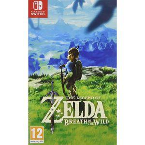JEU NINTENDO SWITCH The Legend of Zelda Breath of the Wild Switch + 1