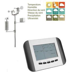 STATION MÉTÉO Station météo professionnelle d'affichage LCD avec