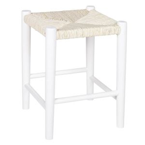 tabouret bois blanc achat vente pas cher. Black Bedroom Furniture Sets. Home Design Ideas
