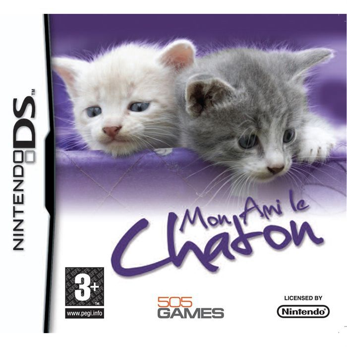 mon ami le chaton jeu console nintendo ds achat vente jeu ds dsi mon ami le chaton nds. Black Bedroom Furniture Sets. Home Design Ideas