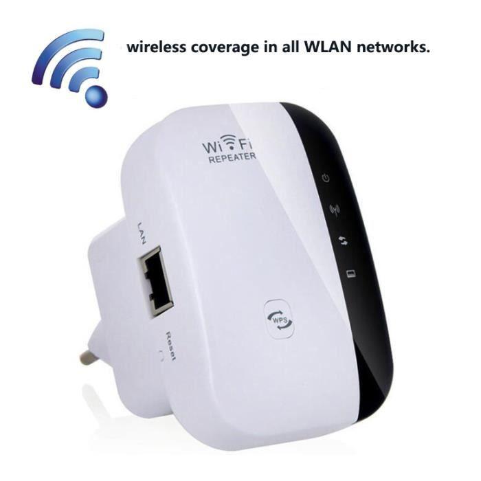Amplificateurs de signal de 300Mbps Répéteur Wifi Wps Encryption Amplificateur de signal de répéteur Wi-Fi sans fil 802.11N / B / G