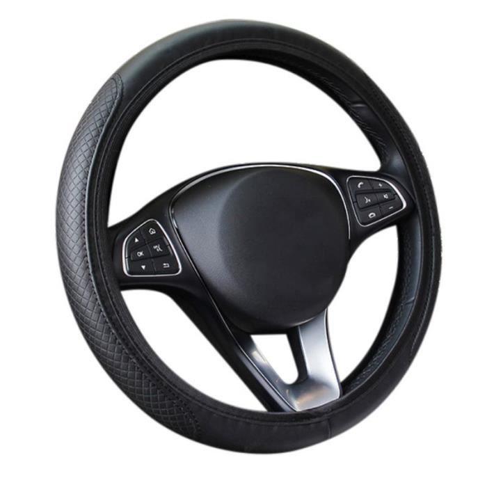 Couvre volant,Housse de volant universelle en Fiber de carbone pour voiture, housse de volant, élastique respirante, - Type B