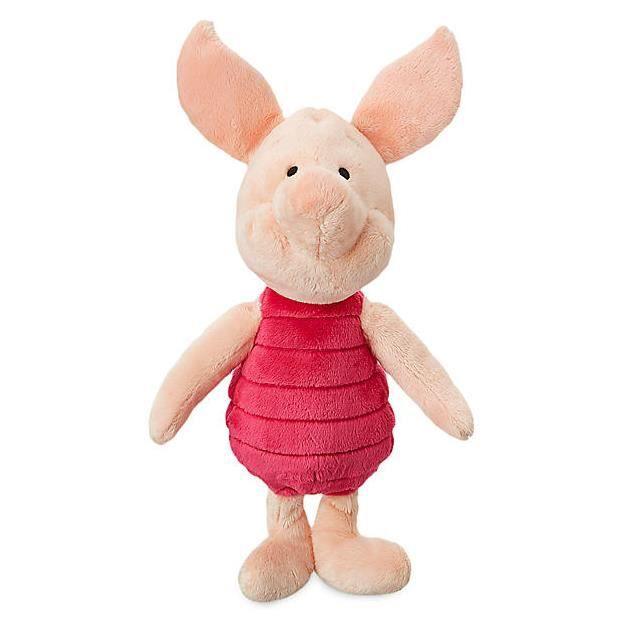 Winnie l'ourson officiel - Peluche douce en forme de cochon, 33 cm