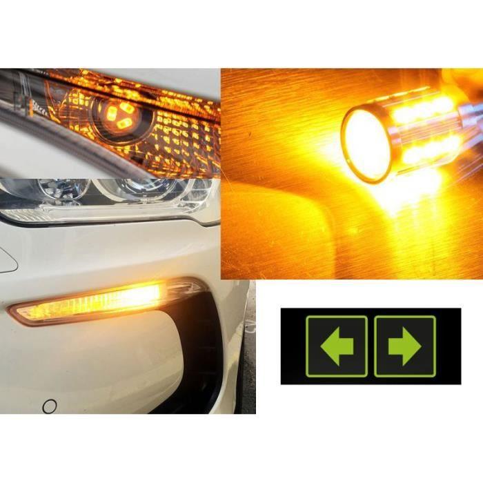 Pack Clignotants avant à LED pour votre Ford Focus (mk2). Notre pack est personalisable en terme de couleur, Jaune/Orange ou Orange