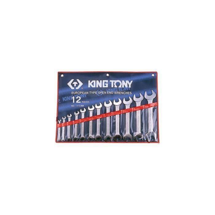 Trousse de 12 clés à fourches en pouces - 1-4- à 1