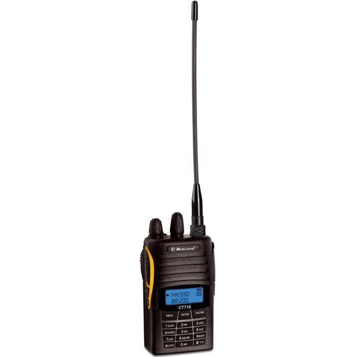 MIDLAND CT710 Talkie Walkie Bi-bandes UHF/VHF