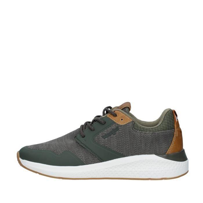 Wrangler WM01072A chaussures de tennis faible homme VERT