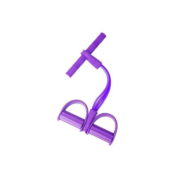 4 bandes de résistance de Tube Latex pédale exerciseur sit-up traction corde extenseur bandes élastiques équipement de Yoga pour la