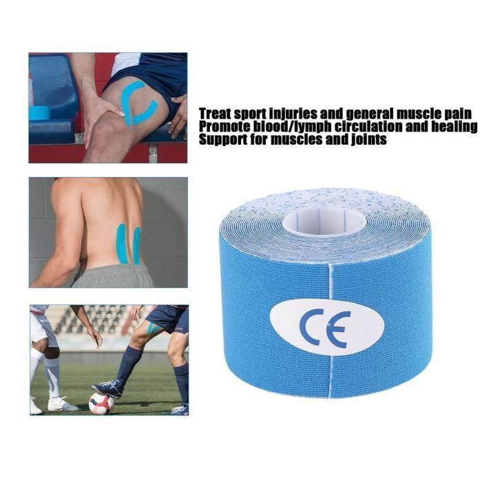 Ruban élastique Roll Sports étanche bande élastique kinésiologie soins de la douleur musculaire thérapeutique