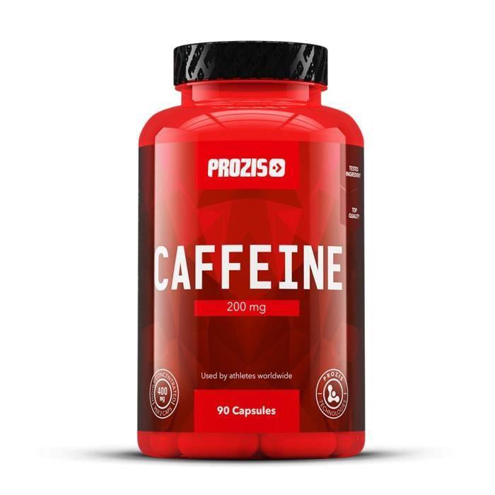 PROZIS - Caféine 200 mg 90 gélules - Energy drink