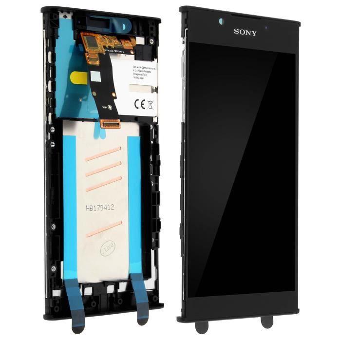 Ecran LCD Sony Xperia L1 Vitre Tactile Sony Original Noir