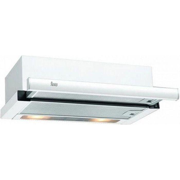 Hotte standard Teka TL6310W 60 cm 332 m3/h 65 dB 231W Blanc