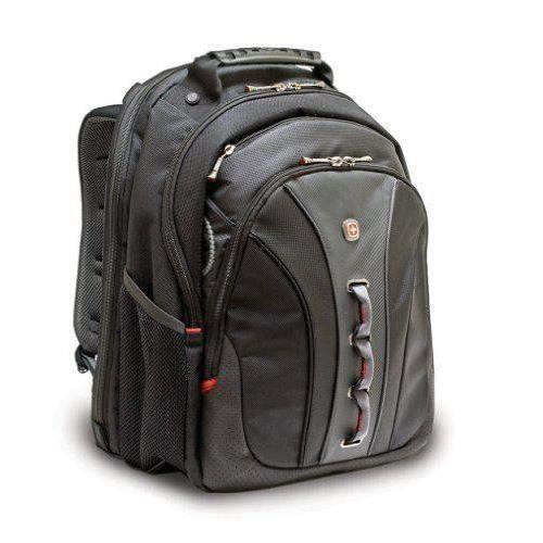 Wenger Traveller Sac à dos en nylon pour Ordinateur portable Noir