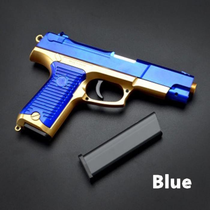 PISTOLETS POUR jusqu/'à 9 Pistolets Bleu Laqué