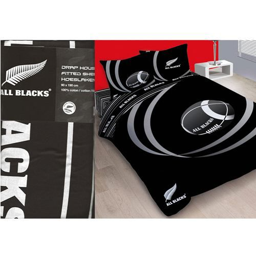 drap housse all black Drap housse All Blacks 2 places   Achat / Vente drap housse  drap housse all black