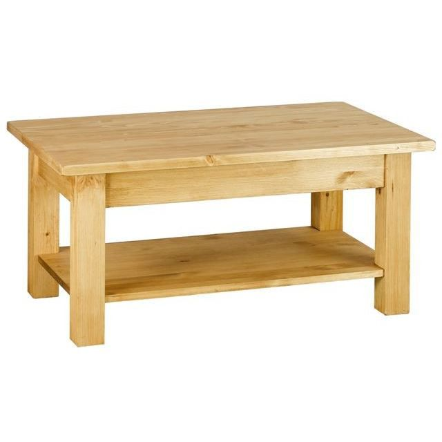 Table basse rustique en pin 100 cm achat vente table basse table basse ru - Table basse en pin pas cher ...
