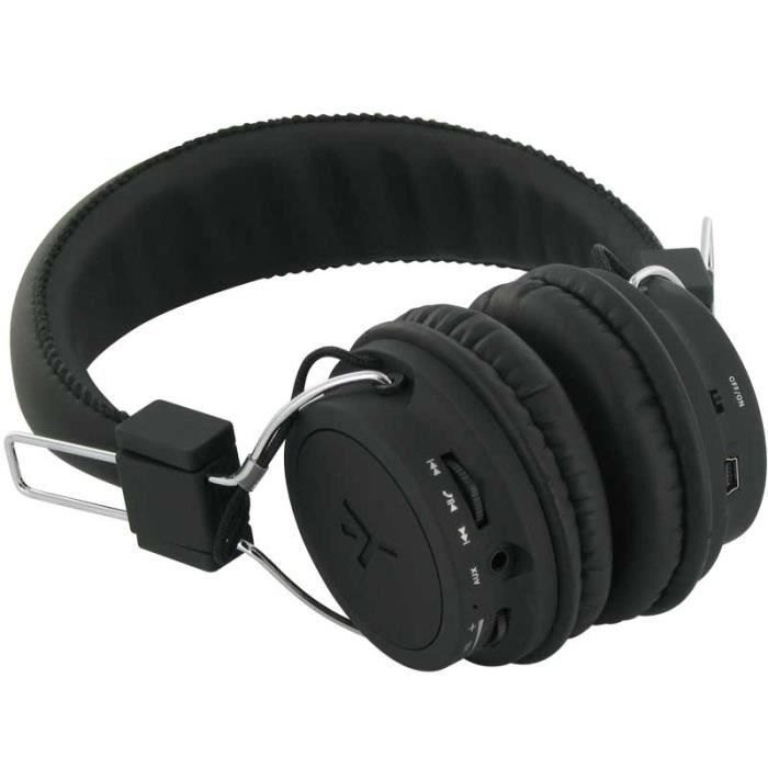Casque Audio Stéréo Bluetooth Ryght