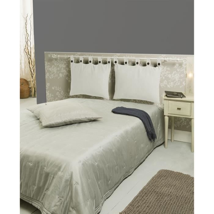 t te de lit d houssable ivoire 50x70cm achat vente coussin cdiscount. Black Bedroom Furniture Sets. Home Design Ideas