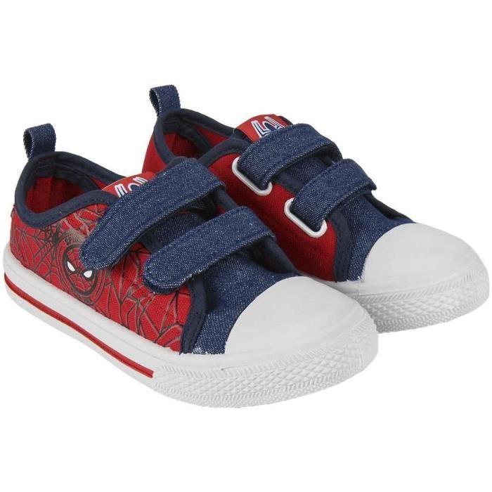Adidas Disney Spider-Man CF I Noir Blanc Bébé Chaussures Enfants Fermeture Velcro Neuf