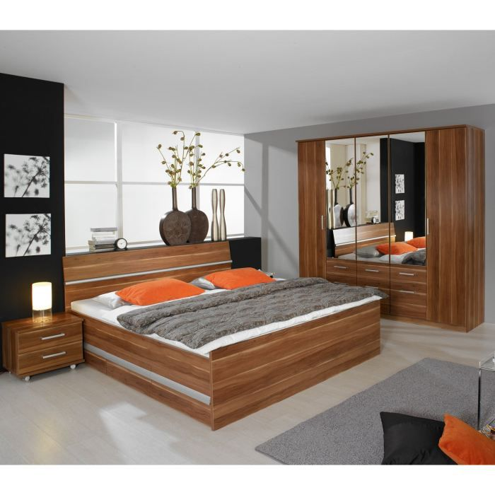 Chambre adulte design apollina 160 x 200 cm achat for Chambre complete design