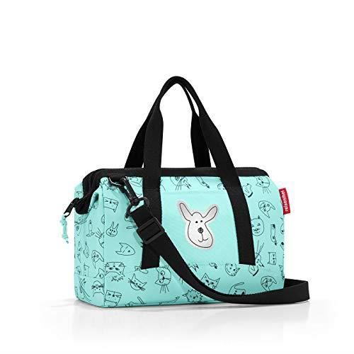 Reisenthel storagesac Kids Cats and Dogs Rose Sport Duffel 51 Centimeters 27 Pink Cats and Dogs Rose