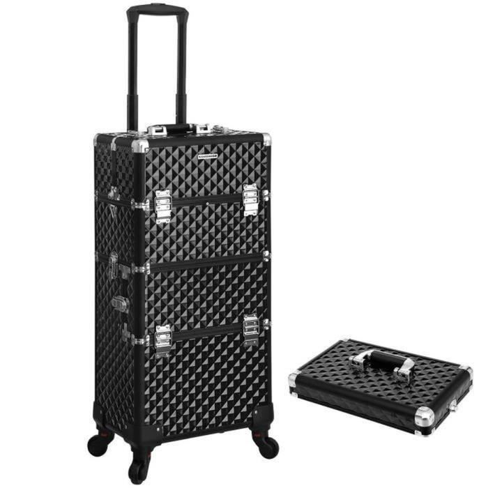 VALISE - BAGAGE SONGMICS Valise Mixte JHZ04B - Mallette coiffure /