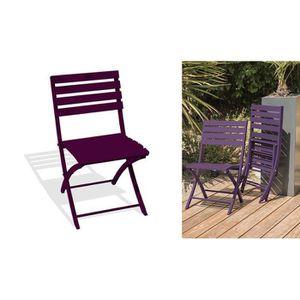 Salon de jardin Violet - Achat / Vente Salon de jardin ...