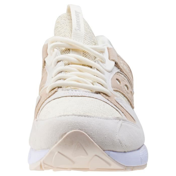 Saucony Grid 9000 Knit Pack Hommes Baskets Cream - 9 UK