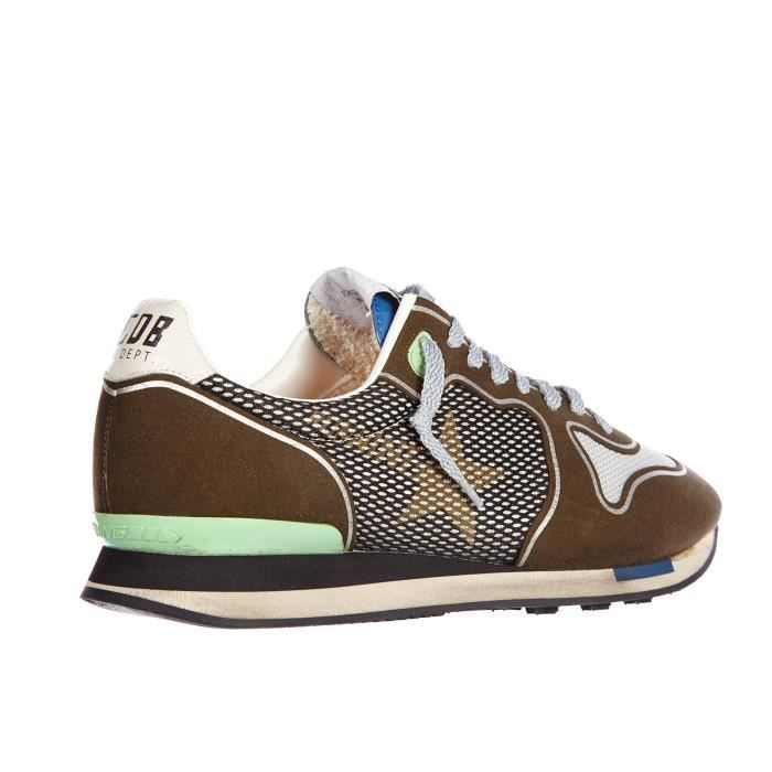 en baskets Chaussures Chaussures Goose baskets running homme cuir sneakers Golden BF4Wq