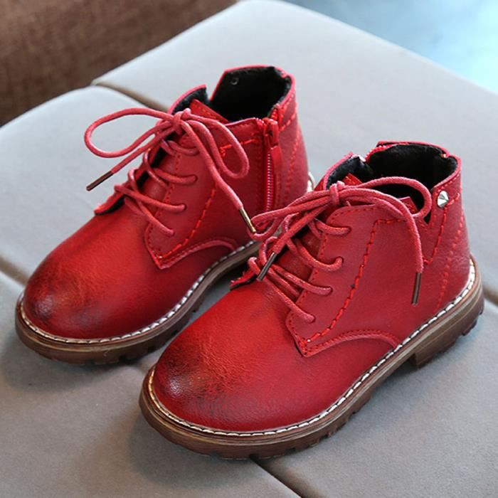 Hiver Neige ons Rouge Chaussures Filles Mode Bb Enfants Martin Casual Sneaker Gros Gar Exquisgift Sxqz0wWUE4