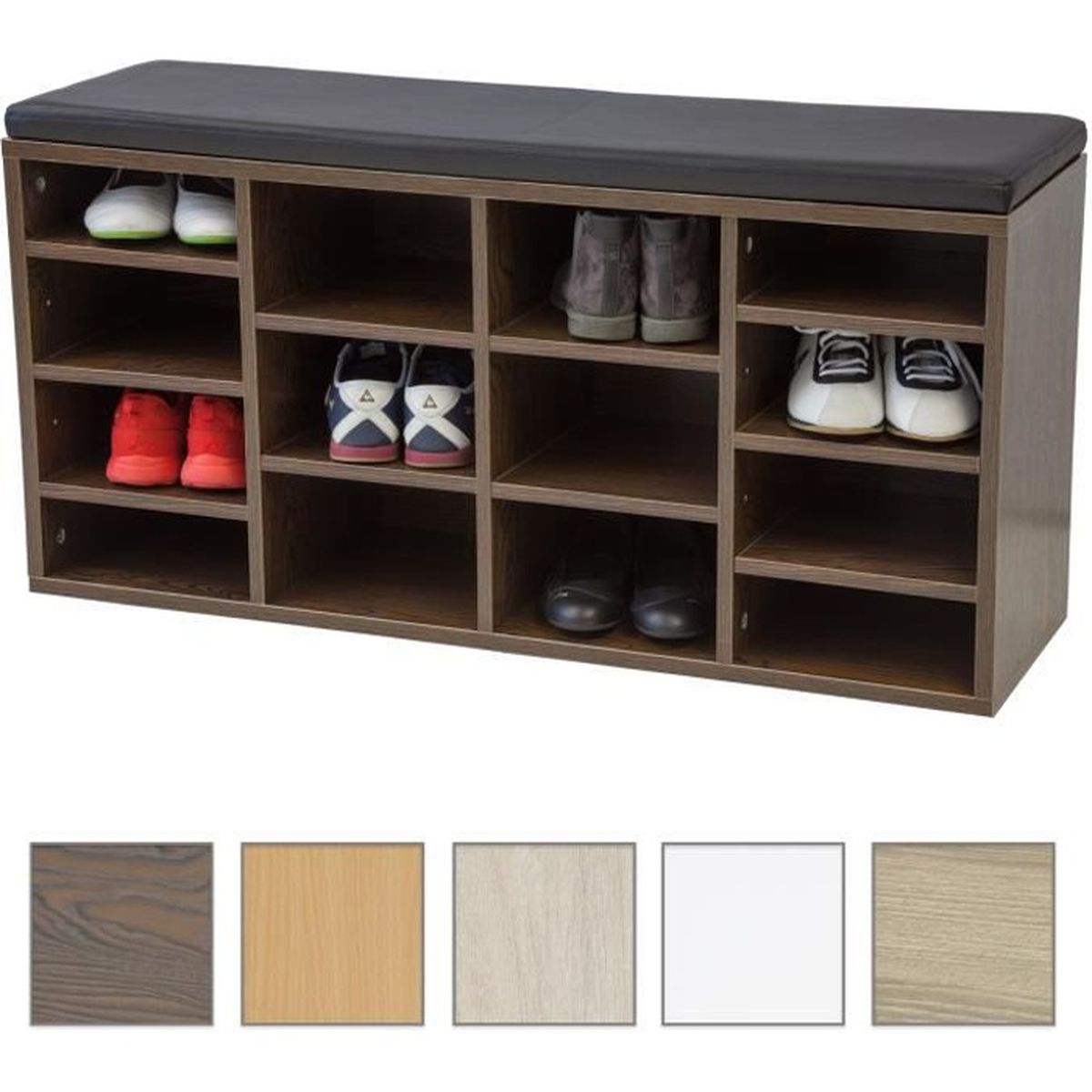 armoire chaussures albatros avec coussin de si ge vincent. Black Bedroom Furniture Sets. Home Design Ideas