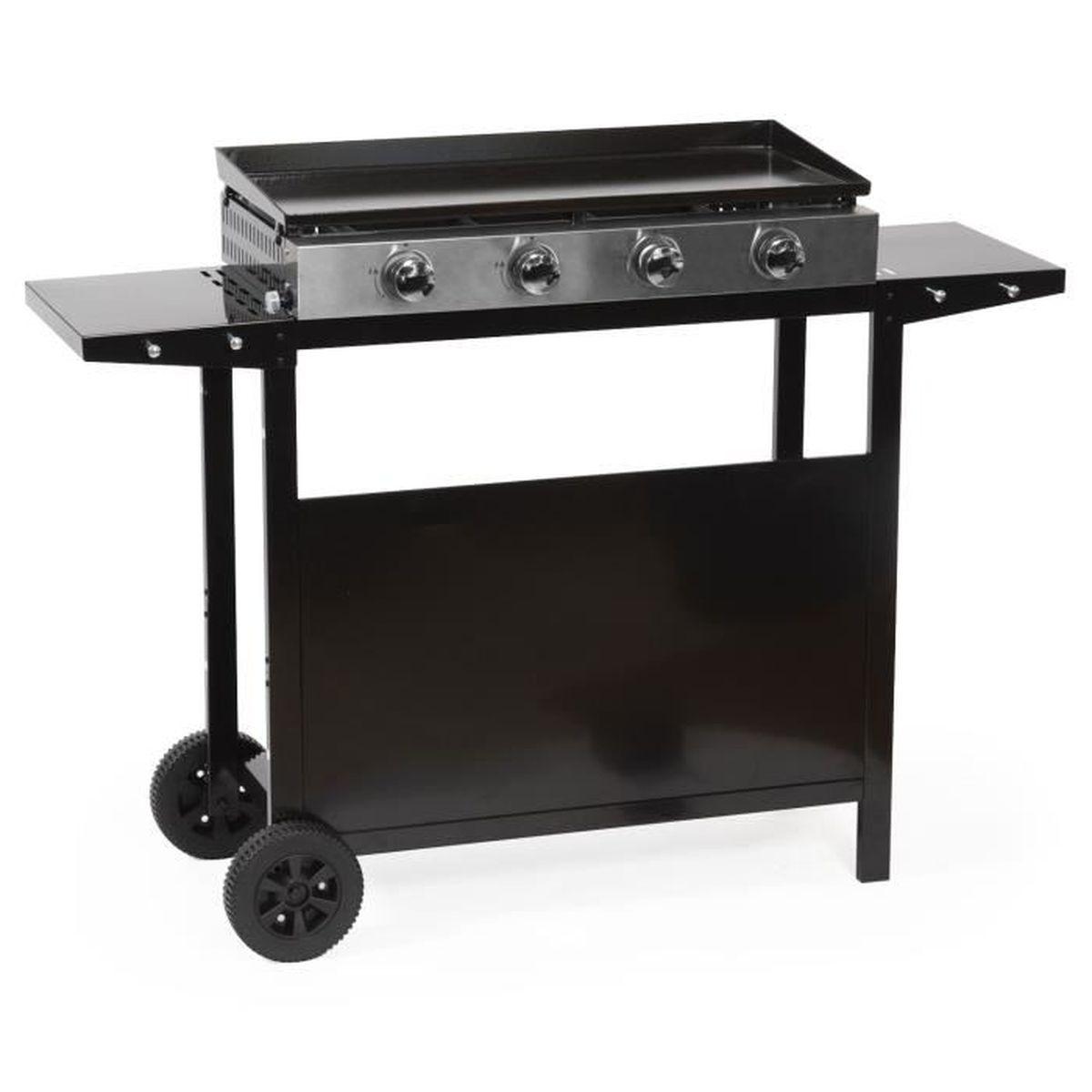 Barbecue Gaz Et Plancha plancha gaz plaque inox
